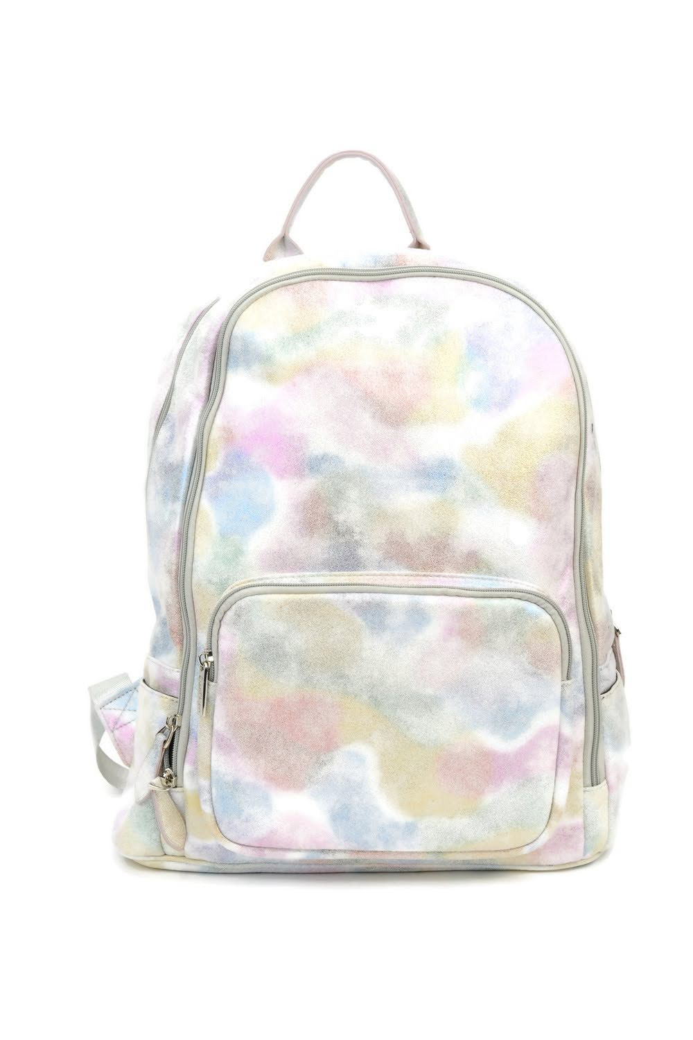 Silver Iridescent Backpack