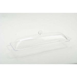 Acrylic Rectangle Tray With Dome lid