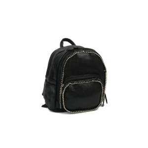 Mini Backpack - Black Chain