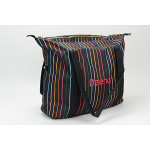 Disco Stripe Duffel