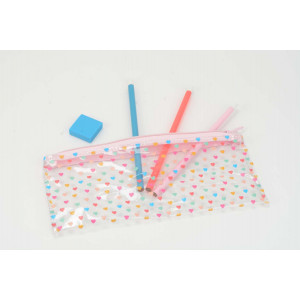 Hearts Pencil Case