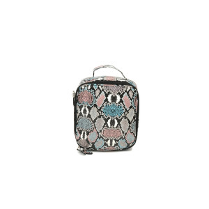 Lunchbox - Pink and Blue Snakeskin