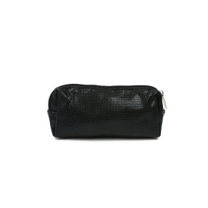 Pencil Case - Black Squares