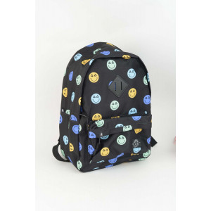 Backpack - Black Emoji