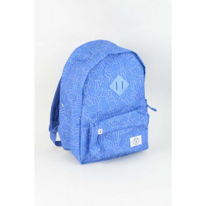 Backpack - Blue Alphabet