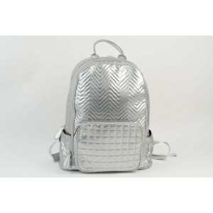 Multi Quilted Silver