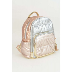 Mini Backpack - Puffy Mat rose gold