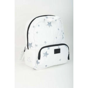 Mini Back Pack - White Stars