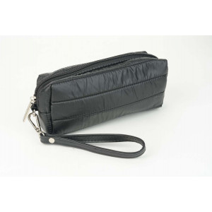 Puffy Pencil Case  - Matt Black