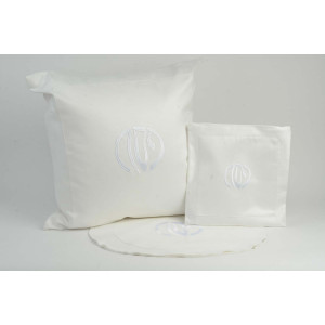 Pesach Set - White Suede
